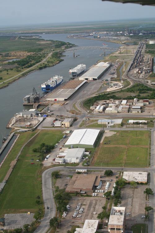 Aerial Photos - Port of Port Arthur